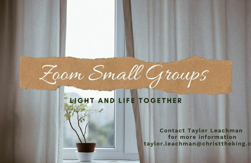 Zoom Small Group - Whitley