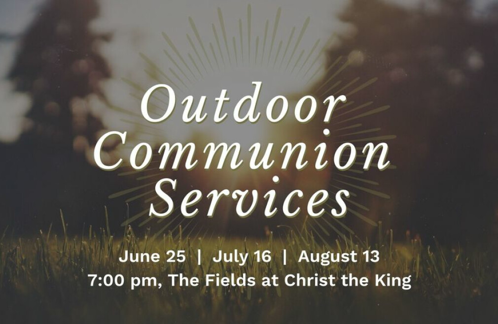 Outdoor Communion Services