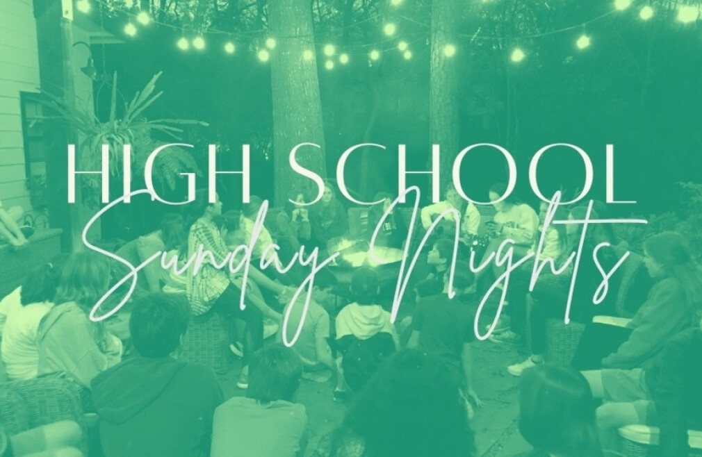 Student Ministry High School Sunday Nights