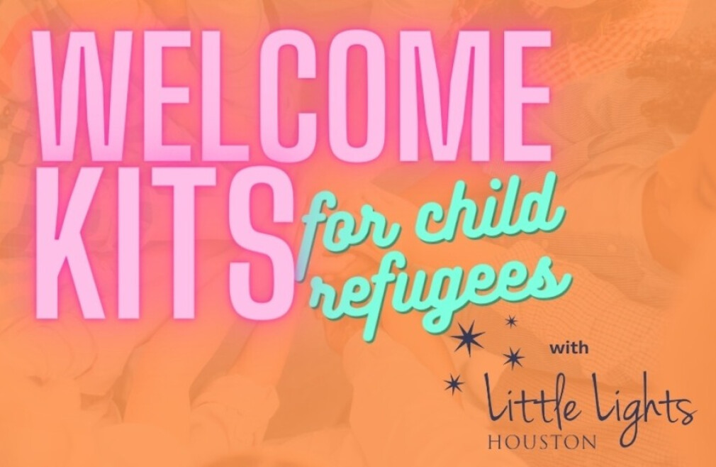 Make Welcome Kits for Child Refugees